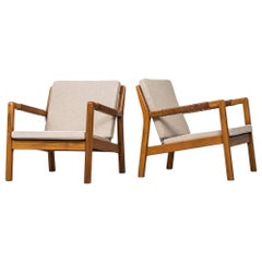 Carl Gustaf Hiort af Ornäs Easy Chairs Model Trienna Produced in Finland