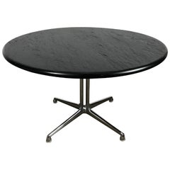 Rare Charles Eames La Fonda Table with Slate Top for Herman Miller