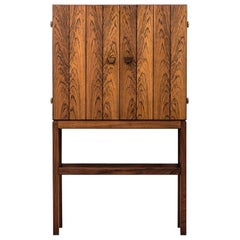 Kurt Østervig Bar Cabinet in Rosewood by K.P Møbler in Denmark