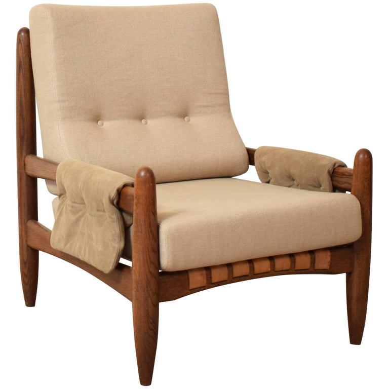 Midcentury Armchair in the Style of Sergio Rodrigues, circa 1970