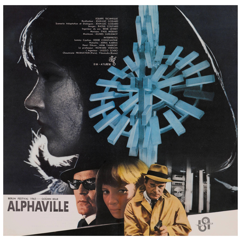 """Alphaville"" Original Japanese Movie Poster"