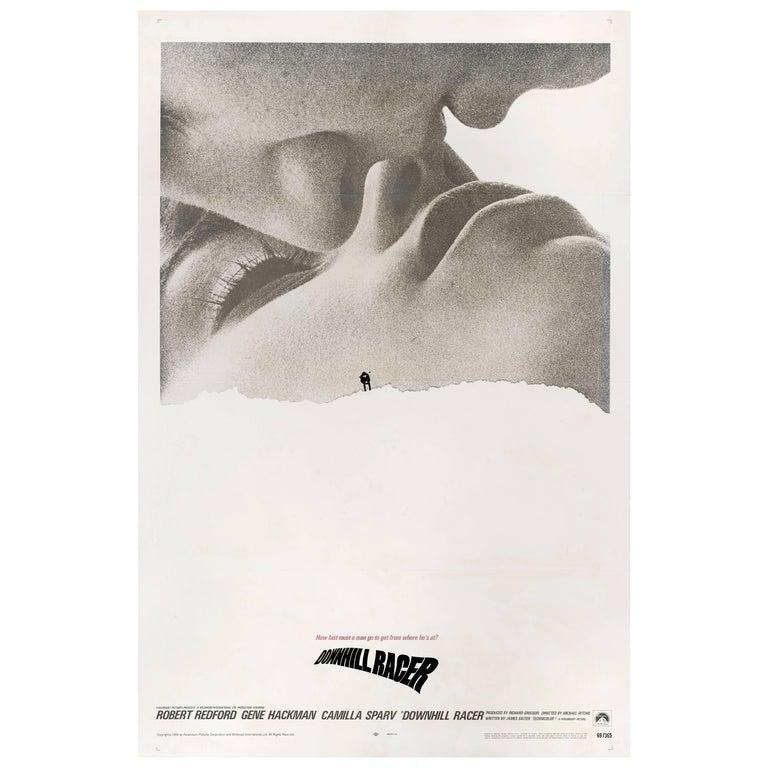 """Downhill Racer"" Original US Movie Poster"
