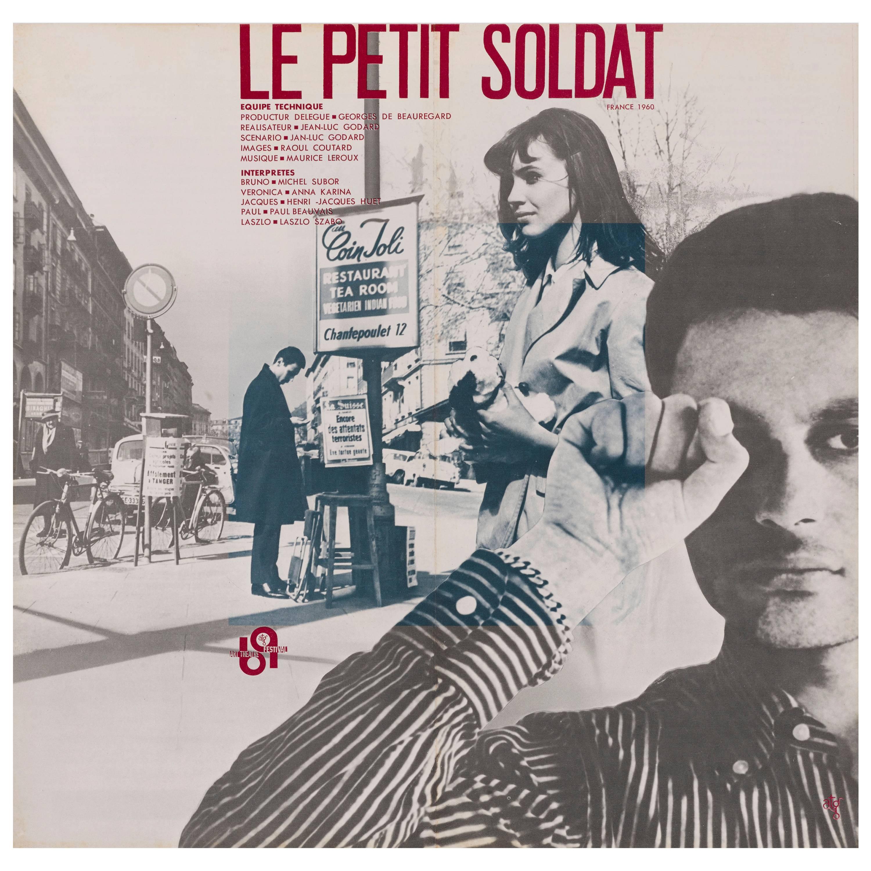 """""""Le Petit Soldat / The Little Soldier"""" Original Japanese Movie Poster"""