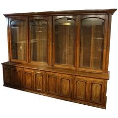 19th Century Eight Doors Mahogany Bookcase