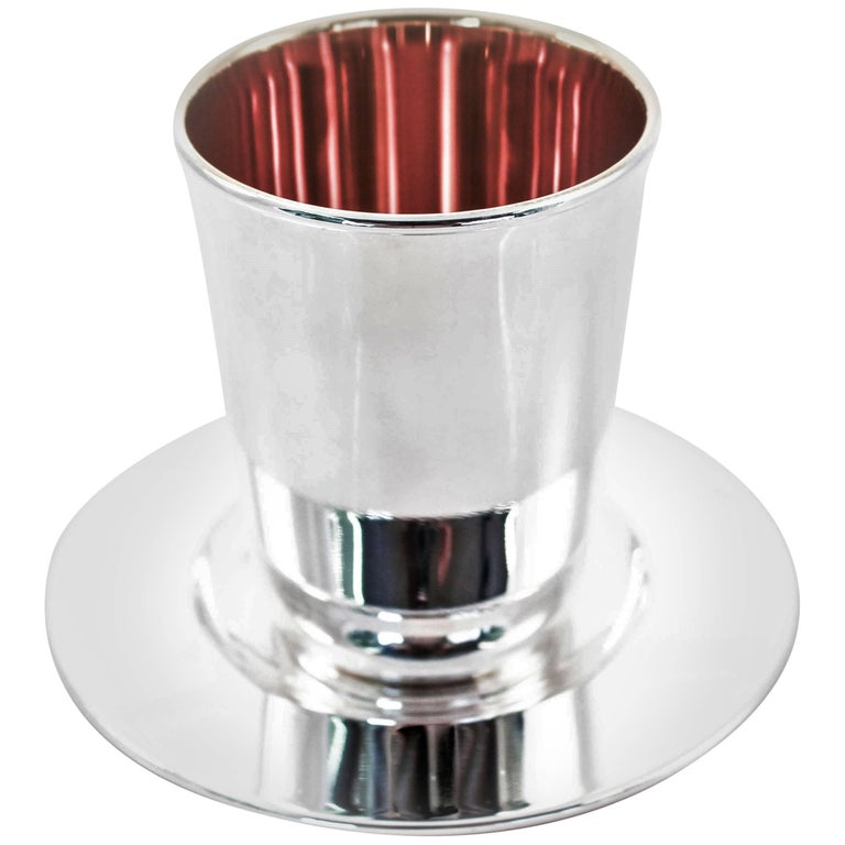 Modern Goblet and Tray
