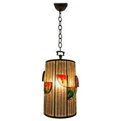 Mid-Century Modern Lantern by Poliarte, Italy, circa 1960