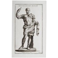Emperor Domitian in Military Uniform