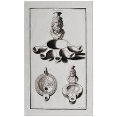Roman Oil Lamp from the Roman Empire
