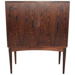 Danish Modern Brazilian Rosewood Dry Bar