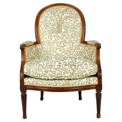 Early 19th Century Louis XVI Style Fauteuil / Armchair Chair