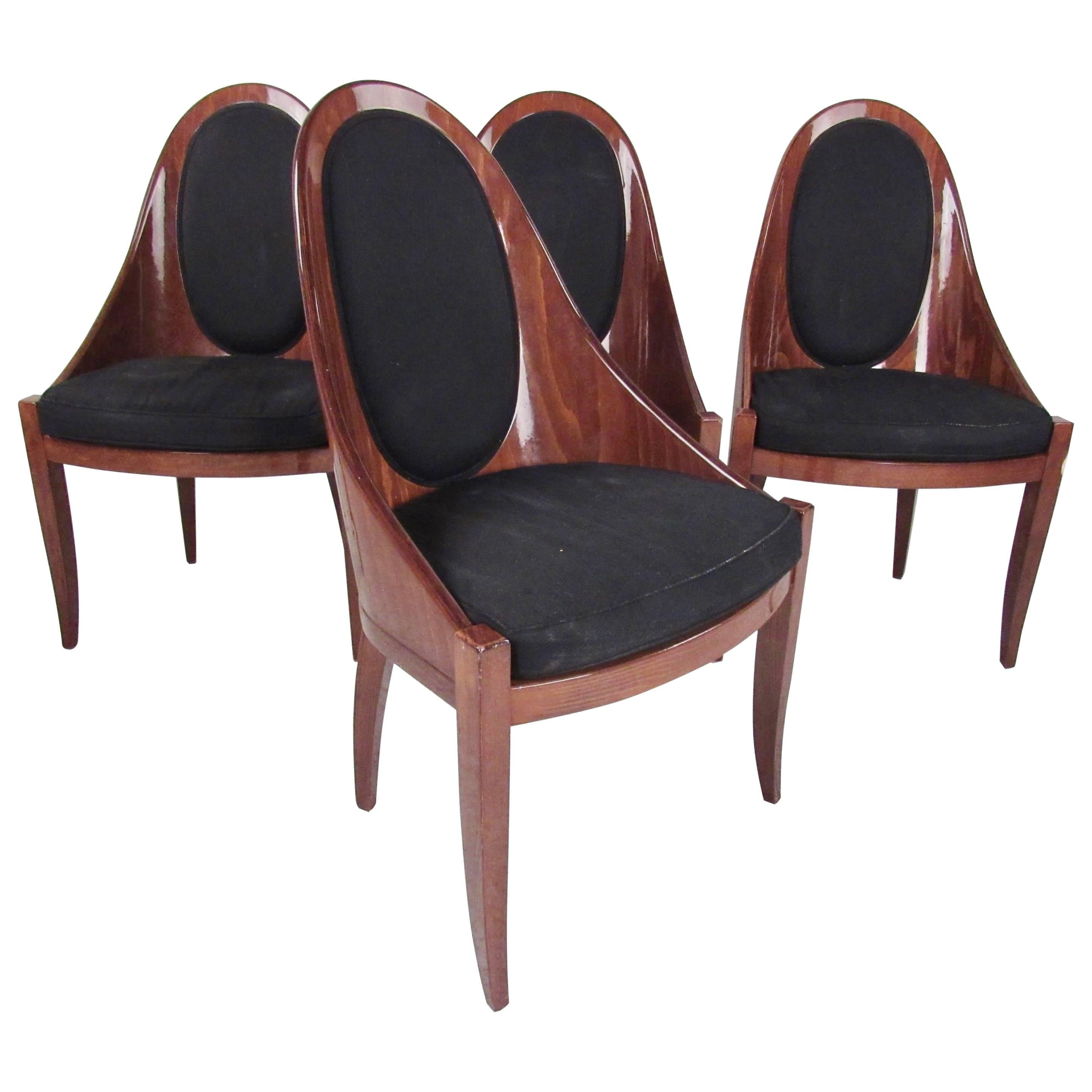 Set of Four Dining Chairs by Pietro Costantini