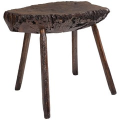 Primitive Oak Table, circa 1780