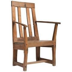 Primitive Armchair, circa 1800