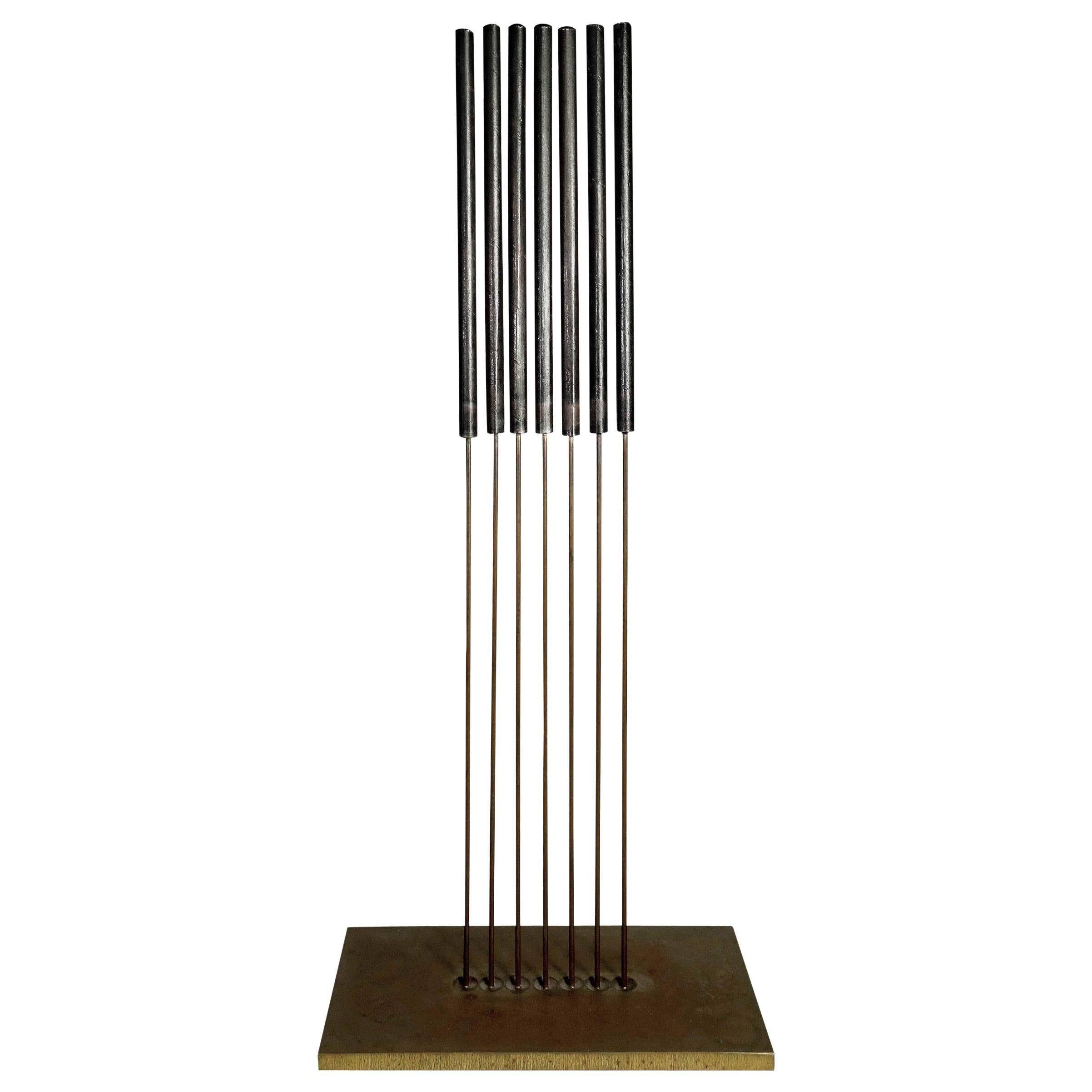 Midcentury Harry Bertoia Sonambient Sculpture