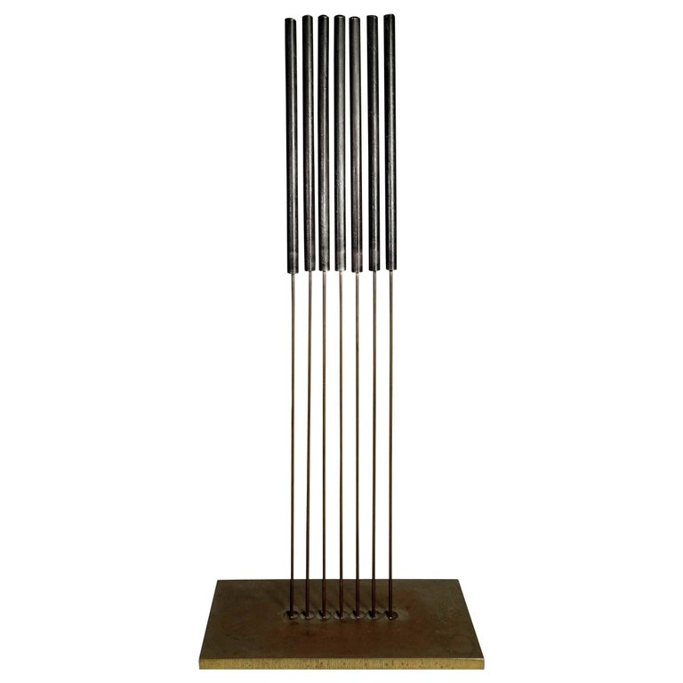 Midcentury Harry Bertoia Sonambient Sculpture For Sale