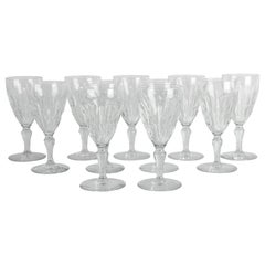 Mid-20th Century Baccarat Crystal Glassware Set