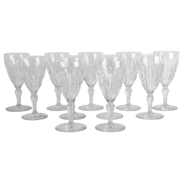 Mid-20th Century Baccarat Crystal Glassware Set