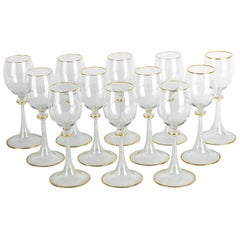 Vintage Baccarat Crystal Glassware Set