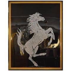 Swarovski Crystal Ferrari Horse by Mauro Oliveira