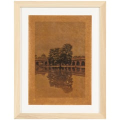 Joslyn Lawrence Framed Photograph Titled Monsoon Mirror, Agra Limited Ed. of 25