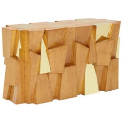 Paul Evans Faceted Cityscape Console