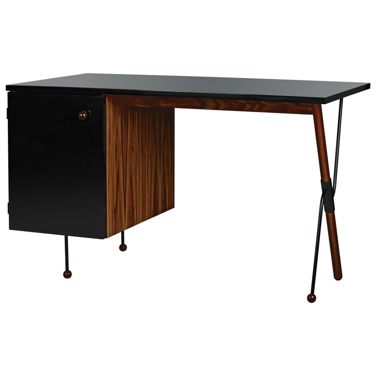 Greta Magnusson-Grossman series 62 desk, 21st century, offered by Two Enlighten Los Angeles