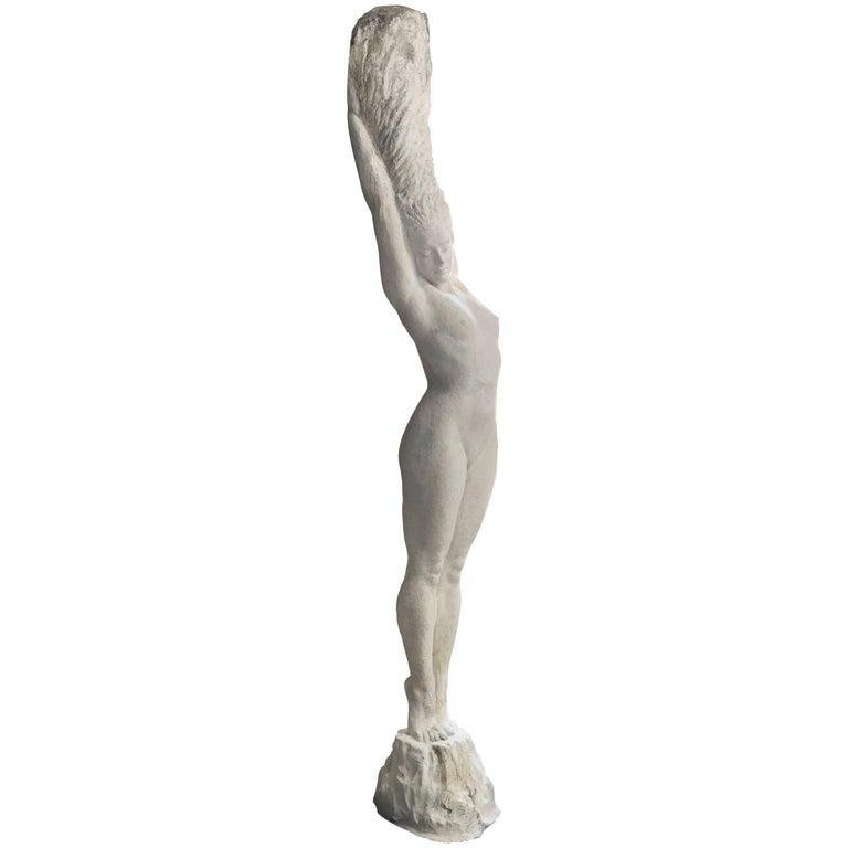 Stone Women Huge Statue Italy