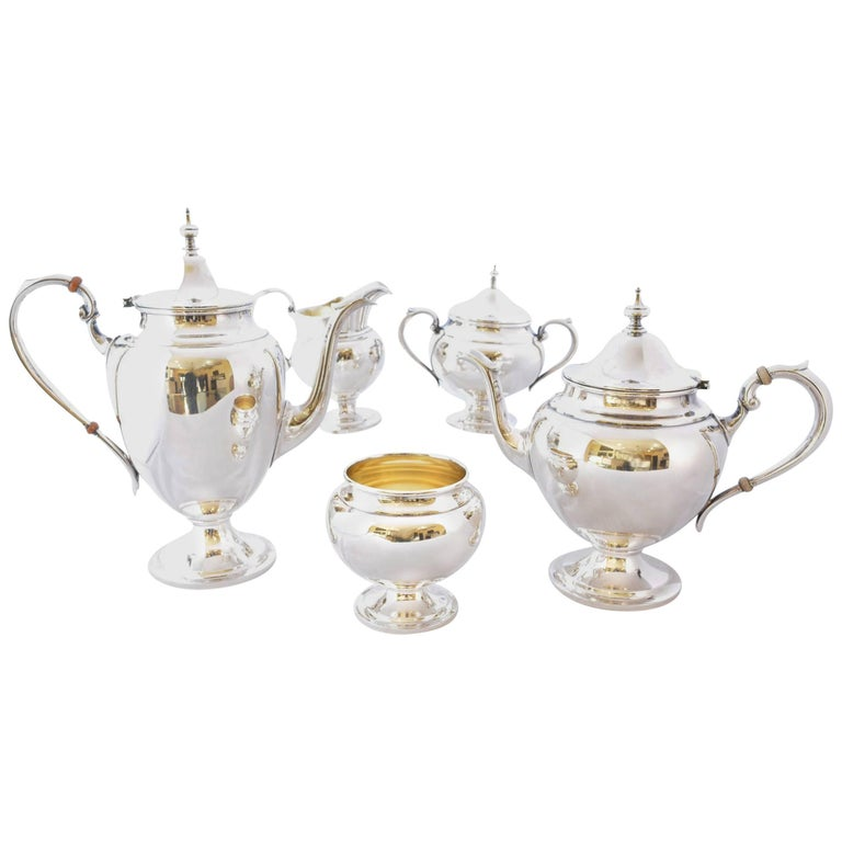 Gorham Puritan Sterling Silver Coffee Tea Service