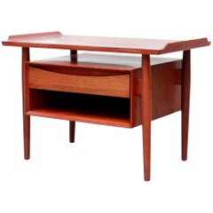 Teak Arne Vodder Danish Design Table with Drawer for Sibast