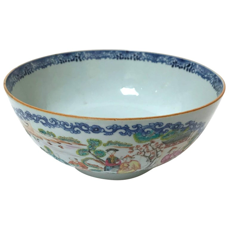 18th Century Chinese Export Bowl