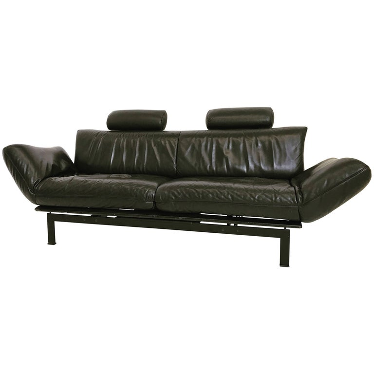 Astounding De Sede Ds 140 Black Sofa Chaise Lounge At 1Stdibs Caraccident5 Cool Chair Designs And Ideas Caraccident5Info