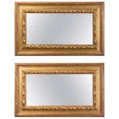 Pair of 19th Century Spanish Rectangular Mirrors