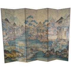 Chinoiserie Paintings and Screens