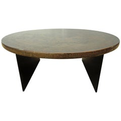 Round Chinese Painted Table
