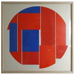 Ilya Bolotowsky Signed and Numbered Screenprint