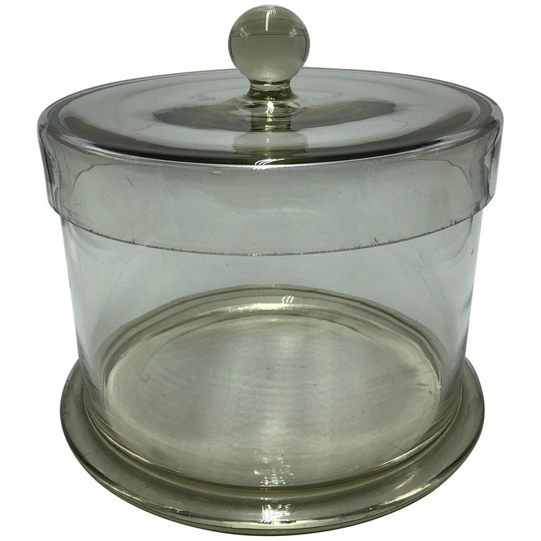 Large Apothecary Laboratory Cotton Wool Jar, Container Very Decorative