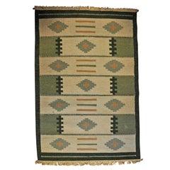 Rollakan Scandinavian Carpet, Sweden, 1950