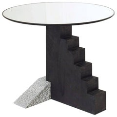 Round Staircase Table, Rooms