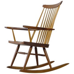 George Nakashima Rocking Armchair, 1960s