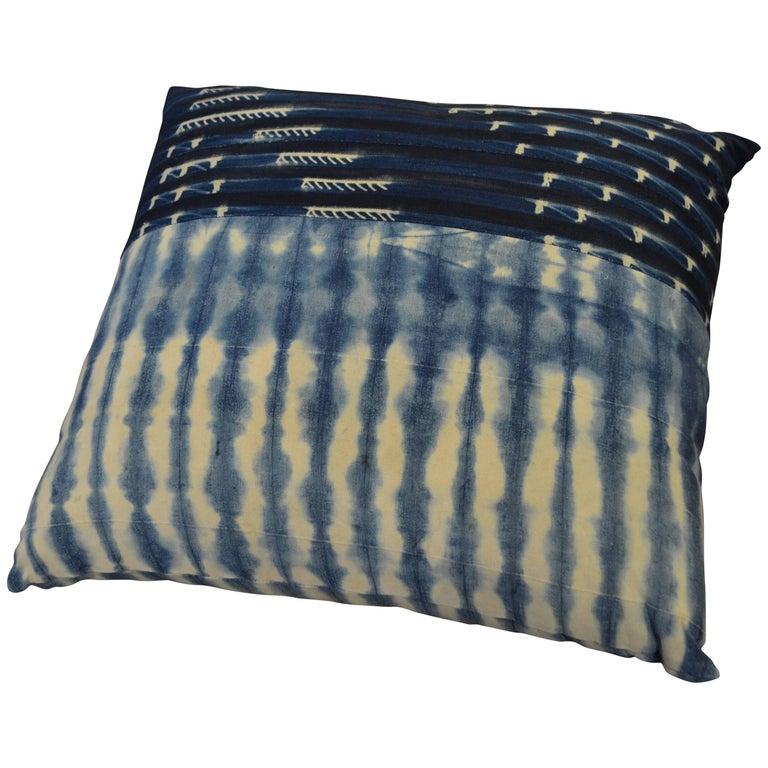 Andrianna Shamaris African Indigo Pillow