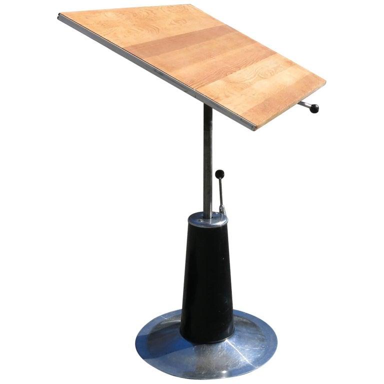 Vintage Adjustable Hydraulic Drafting Table