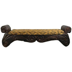 Mid-Century Modern Tiki Bench, Witco Decor