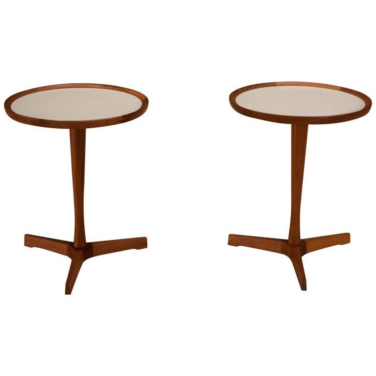 Pair of Danish Teak Hans Andersen Side Tables
