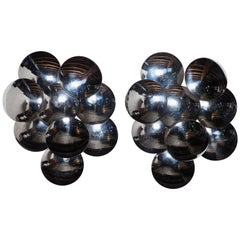 Pair of Large Sconces by Goffredo Reggiani
