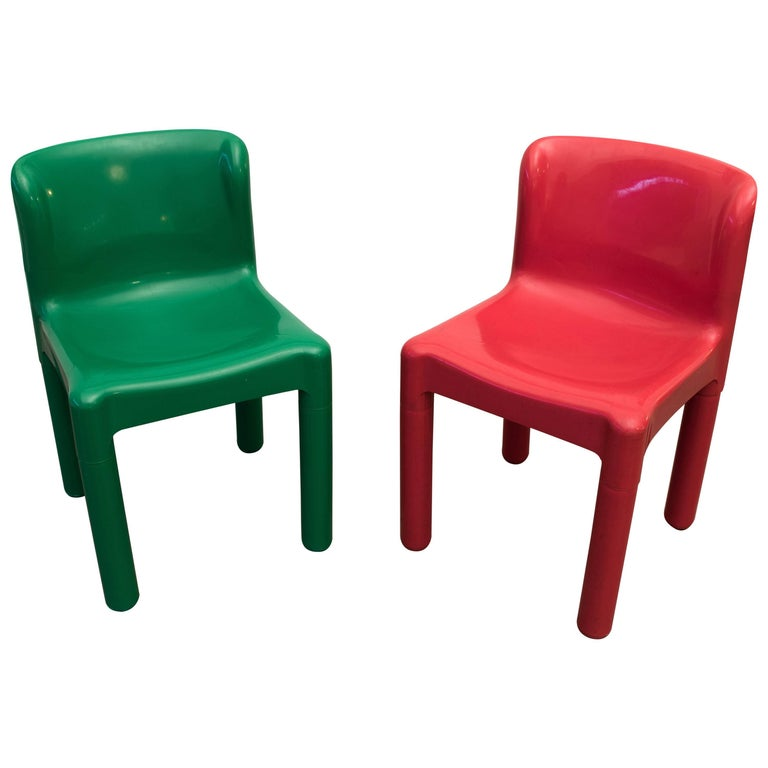 Marco Zanuso Plastic Kids Children S Chair Kartell 1964