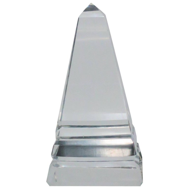 Modern Crystal Obelisk