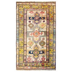 Fantastic Vintage Turkish Konya Rug