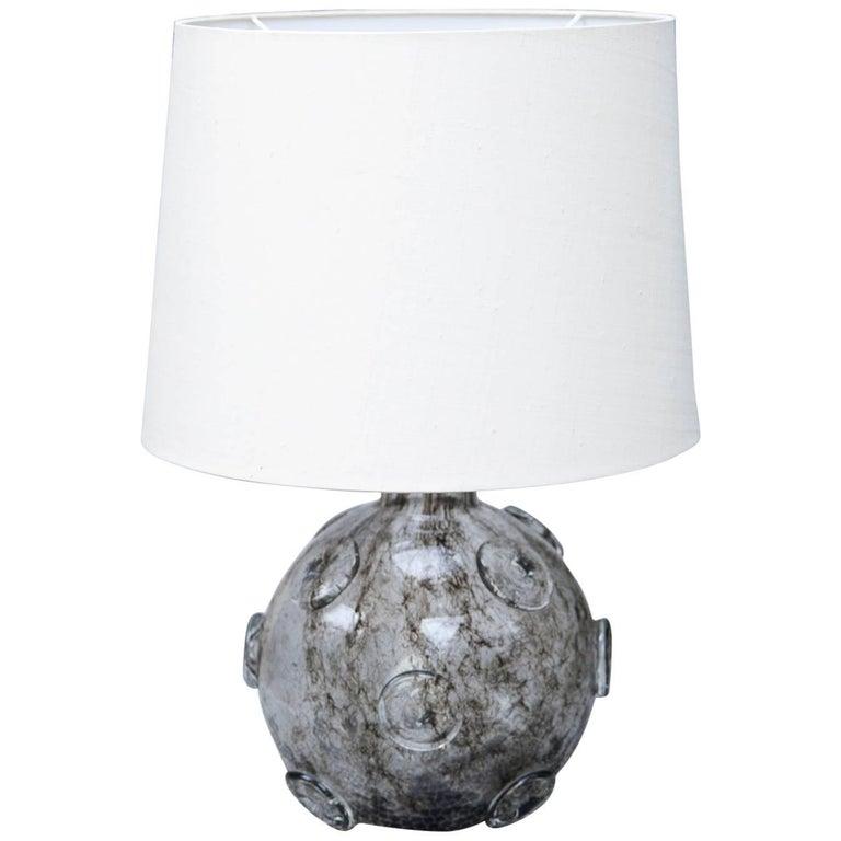 Monumental Ercole Barovier Crepuscolo Murano Table Lamp Italy, 1930s