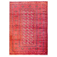 Gorgeous Mid-20th Century Turkmen Rug