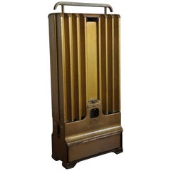 Early 20th Century Art Deco Moveable Radiator with Paraffin-Oil Burner